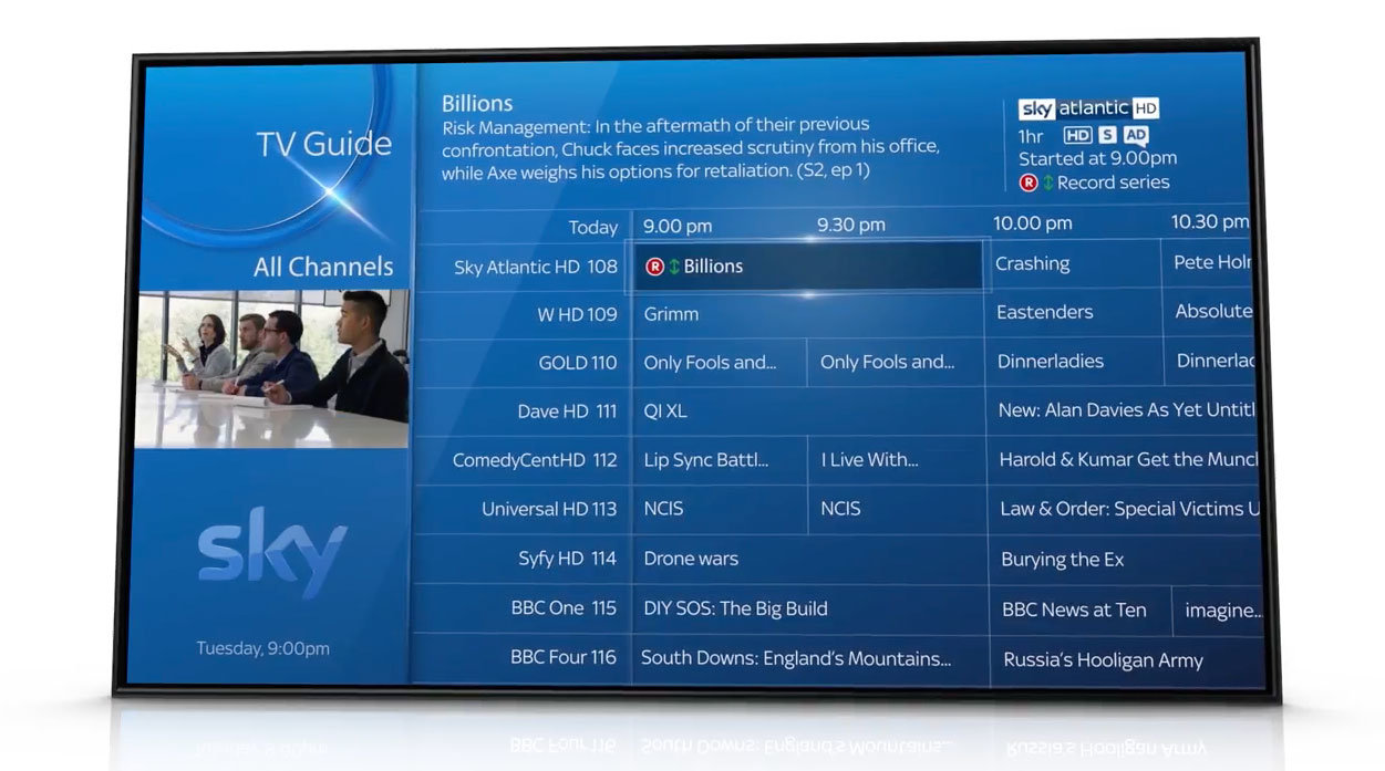 How to record & playback recordings on your Sky Q box