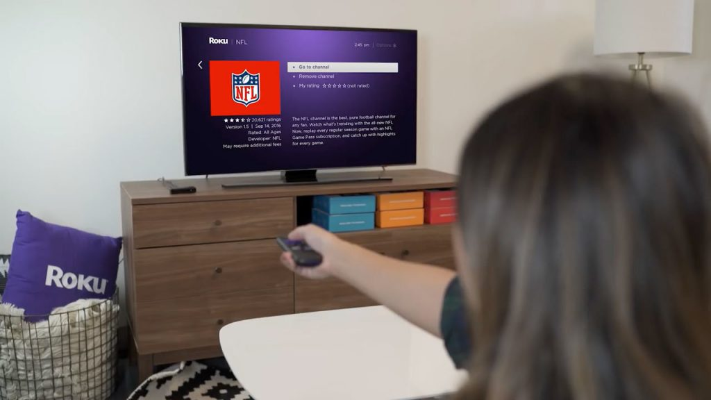 Roku Adding Channels