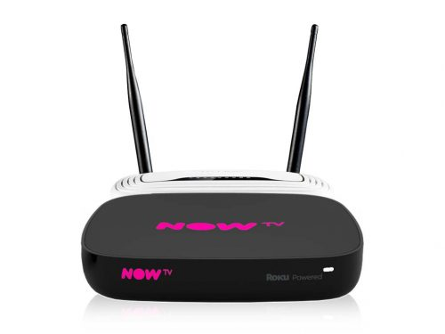 Now TV 4K Box & TP-Link Router
