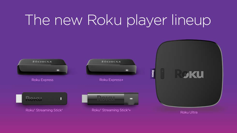 Family of Roku Devices