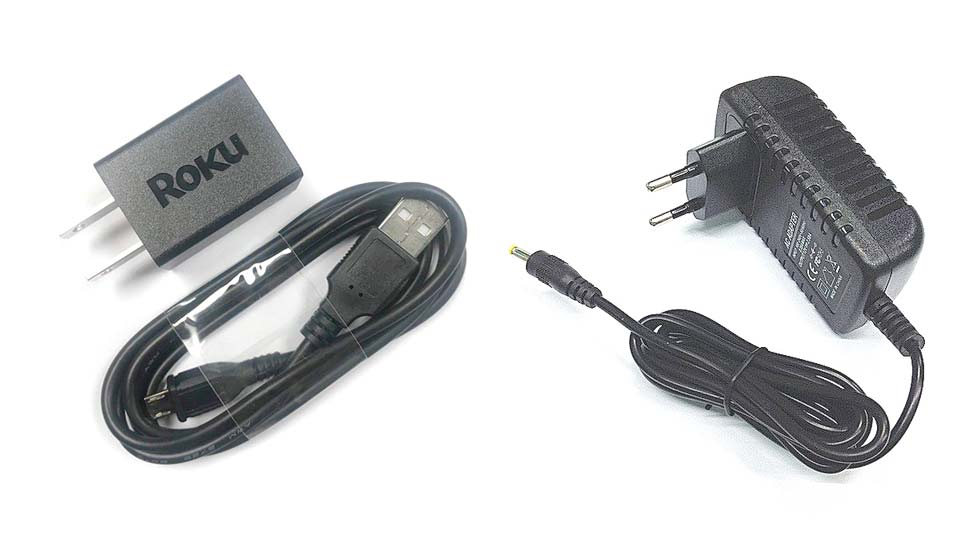 Roku USB Cable & Power Adapter