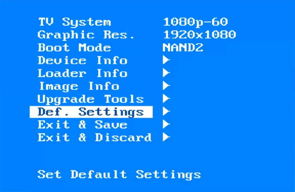 How to Factory Reset a MAG 254 Set Top Box